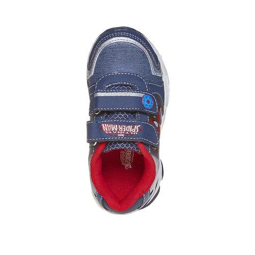 Sneakers da bambino con chiusure a velcro spiderman, viola, 211-9166 - 19