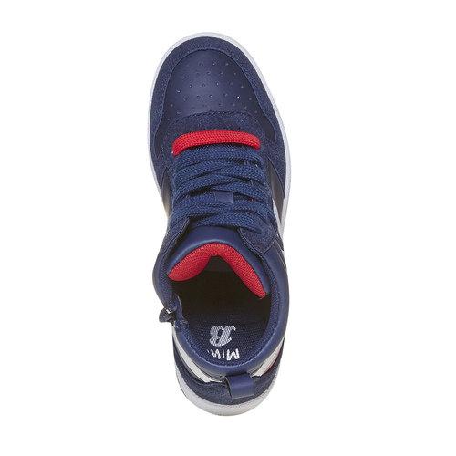Sneakers da bambino alla caviglia mini-b, blu, 311-9232 - 19