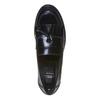 Mocassini da donna in pelle bata, nero, 514-6254 - 19