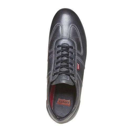 Sneakers informali da uomo levis, grigio, 844-2293 - 19