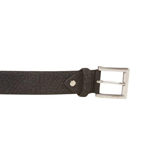 Cintura da uomo in pelle bata, nero, 954-6216 - 26