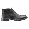 Chukka Boots da uomo in pelle bata, nero, 894-6282 - 26