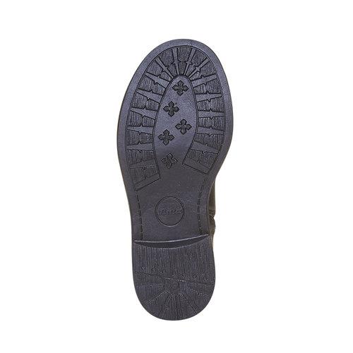 Scarpe da ragazza alla caviglia mini-b, nero, 291-6157 - 26