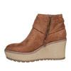 Scarpe alla caviglia con plateau alto bata, marrone, 799-3200 - 19