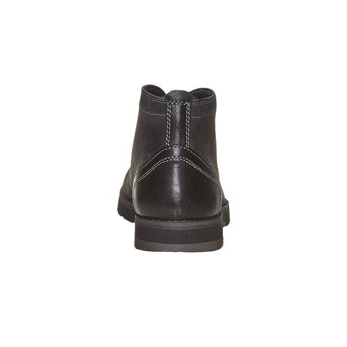 Chukka Boots da uomo in pelle bata, nero, 894-6630 - 17
