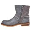Stivali da ragazza con strass mini-b, grigio, 391-2261 - 19