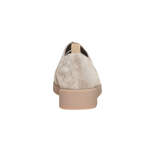 Scarpe di pelle da donna flexible, grigio, 523-2307 - 17