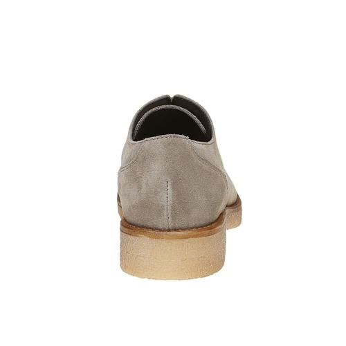 Scarpe basse casual di pelle bata, grigio, 523-2262 - 17