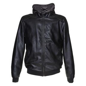 Giacca da uomo con cappuccio bata, nero, 971-6178 - 13