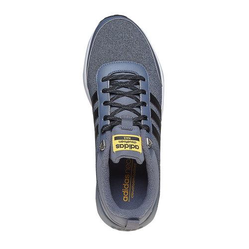 Sneakers eleganti da uomo adidas, grigio, 809-2893 - 19