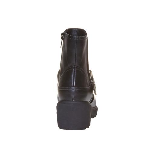 Stivali con suola massiccia mini-b, nero, 391-6237 - 17