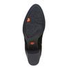 Stivaletti di pelle con fibbia flexible, nero, 693-6344 - 26