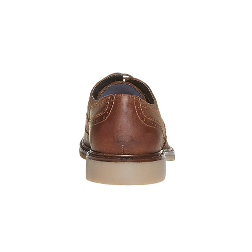 Scarpe basse da uomo in stile Oxford, marrone, 824-4677 - 17