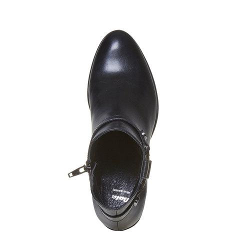 Scarpe da donna alla caviglia bata, nero, 694-6387 - 19