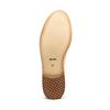 Scarpe basse da donna in pelle con decorazioni bata, giallo, 524-8482 - 19
