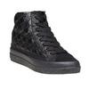 Sneakers alla caviglia da donna con cuciture bata, nero, 691-6390 - 13