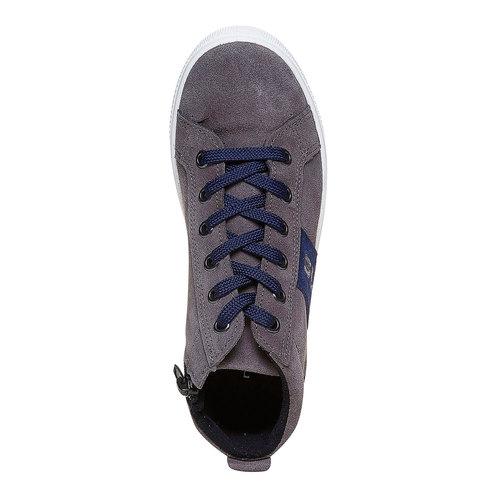 Sneakers da bambino alla caviglia north-star, grigio, 313-2239 - 19