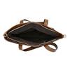 Borsetta da donna con cerniera asimmetrica bata, marrone, 961-3847 - 15