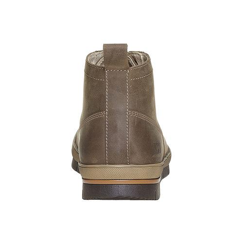 Sneakers da uomo in pelle weinbrenner, grigio, 894-2521 - 17