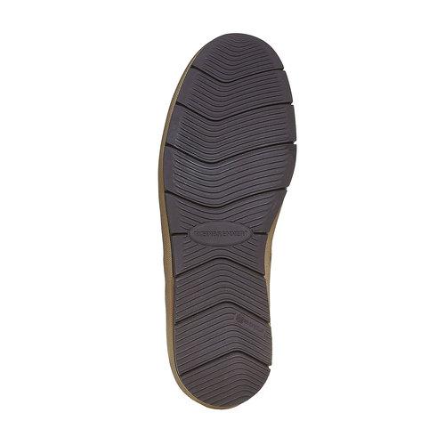 Sneakers da uomo in pelle weinbrenner, grigio, 894-2521 - 26