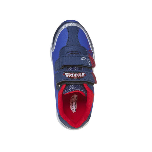 Sneakers da bambino con chiusure a velcro spiderman, viola, 311-9230 - 16