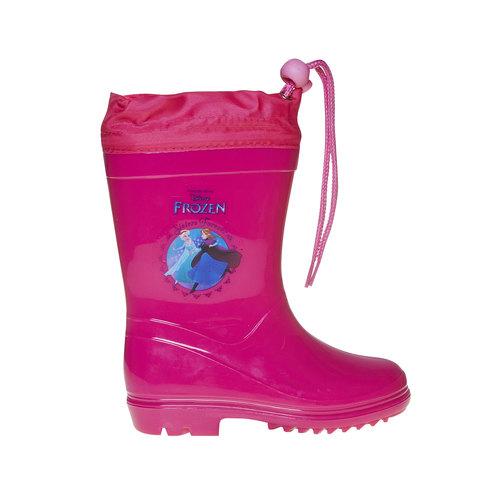 Stivali di gomma rosa da bambina, rosso, 292-5162 - 15