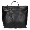 Borsetta da donna con manici in metallo bata, nero, 961-6789 - 19