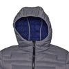 Giacca da uomo con cappuccio bata, grigio, 979-2627 - 16