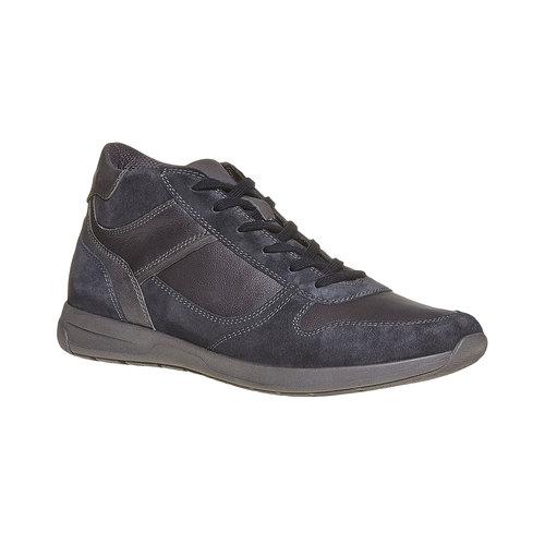 Sneakers da uomo in pelle bata, nero, 894-6697 - 13