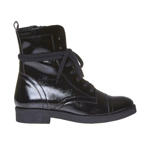 Scarpe verniciate da donna bata, nero, 591-6121 - 15