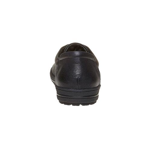 Sneakers informali da uomo bata, nero, 844-6199 - 17