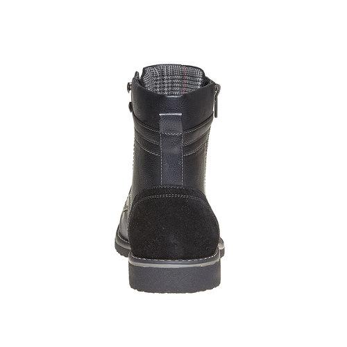Scarpe da uomo alla caviglia, nero, 891-6568 - 17