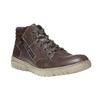 Sneakers da uomo in pelle bata, grigio, 844-2686 - 13