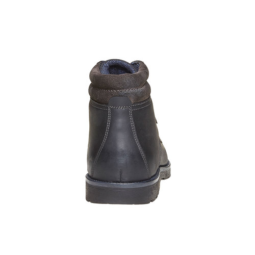 Scarpe da uomo alla caviglia bata, nero, 894-6281 - 17