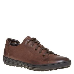 Sneakers in pelle da uomo bata, marrone, 844-4199 - 13