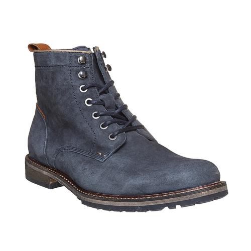 Scarpe da uomo alla caviglia bata, viola, 893-9357 - 13