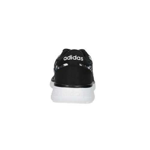 Sneaker sportive da donna con stampa adidas, nero, 509-6535 - 17