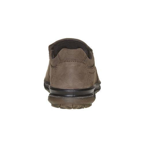 Scarpe basse di pelle da uomo bata, grigio, 836-2127 - 17