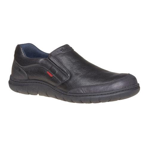 Scarpe da uomo in pelle bata, nero, 834-6126 - 13