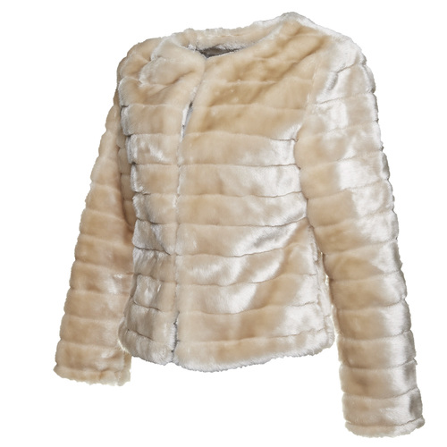 Pelliccia elegante da donna bata, bianco, 979-1644 - 16