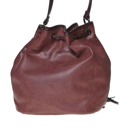 Borsetta in stile Bucket Bag bata, rosso, 961-5884 - 26