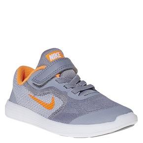 Sneakers da bambino nike, grigio, 109-2322 - 13