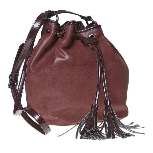 Borsetta in stile Bucket Bag bata, rosso, 961-5884 - 13