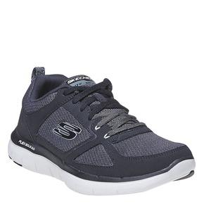 Sneakers sportive da uomo skechers, nero, 809-6349 - 13