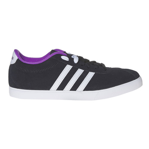 Sneakers da donna in pelle adidas, nero, 503-6201 - 15
