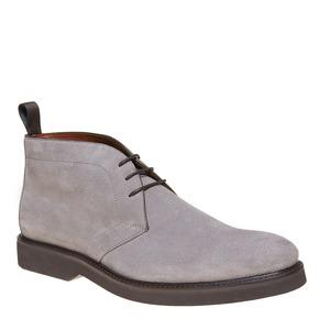 Scarpe Chukka da uomo in pelle bata-the-shoemaker, grigio, 893-2702 - 13
