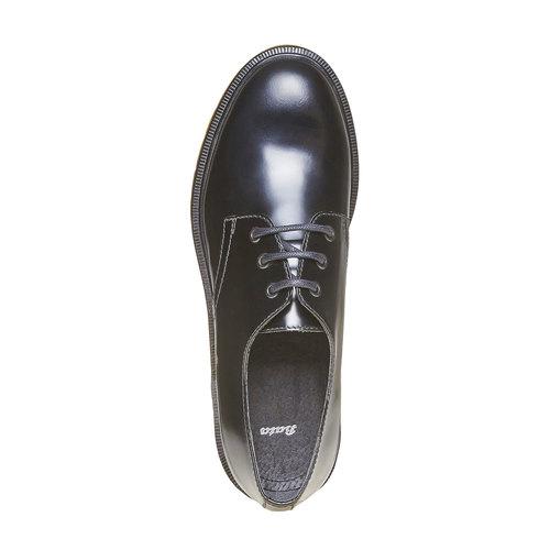 Scarpe basse da uomo in pelle bata, nero, 824-6355 - 19