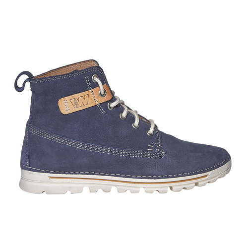 Scarpe da donna sopra la caviglia weinbrenner, blu, 594-9323 - 15