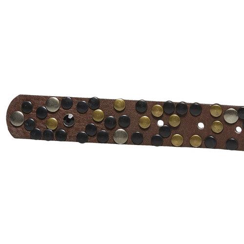 Cintura da donna con applicazioni bata, marrone, 951-4120 - 16