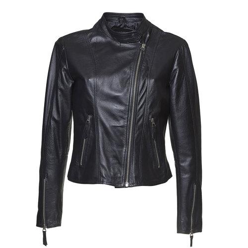 Giacca da donna in pelle bata, nero, 974-6145 - 13
